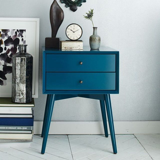EXACTLY! the shade of blue i need my bedside table to be!
