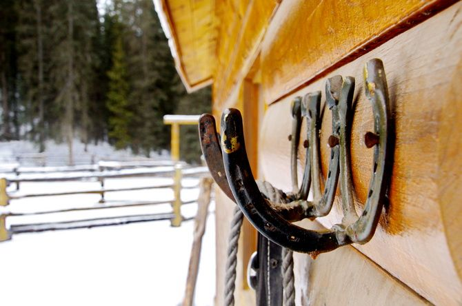 A winter ski trip into Sundance Lodge, Banff National Park