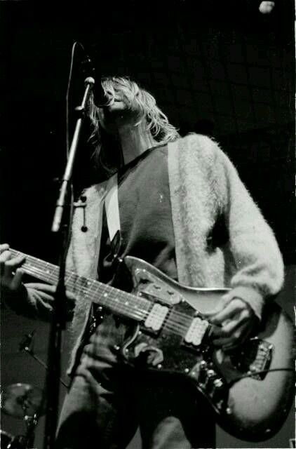 The genius Kurt Cobain