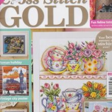 Huge selection of back issues of Cross Stitch Gold--TONS & TONS OF MAGS