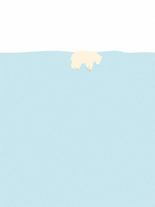 Swen Swensøn - Svømning Isbjørn