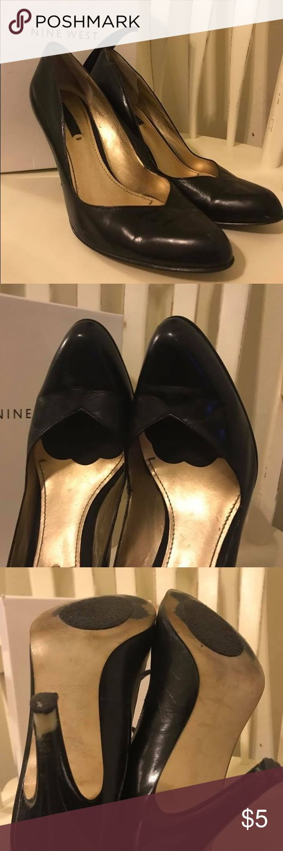 Nine West Heels Used size 9 Nine West Heels Used size 9 Nine West Shoes Heels