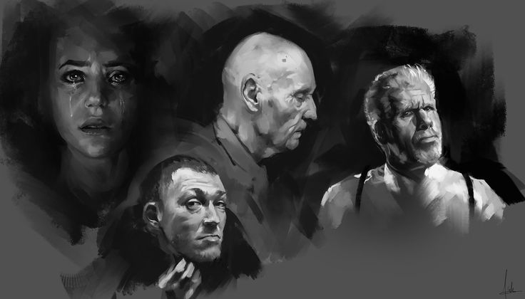 Face Studies, Aaron Griffin on ArtStation at https://www.artstation.com/artwork/face-studies-9d1ab569-0d30-45d1-ac0a-9063ebf011f3