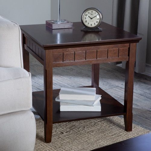 Belham Living Richland End Table in Espresso - End Tables at Hayneedle
