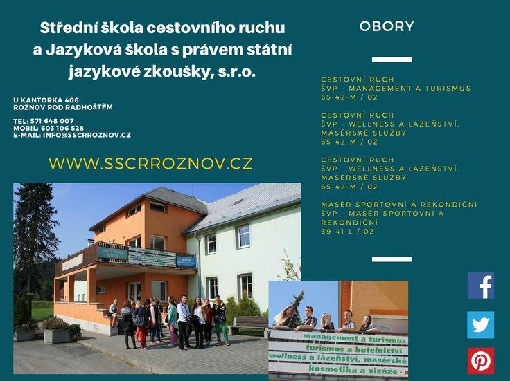 Střední škola cestovního ruchu a jazyková škola s právem státní jazykové zkoušky, s r o   #Rožnov #sscr #JiříHrdý #cestovka #turismus #wellness #masér #masáže