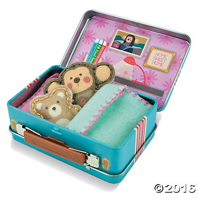 Travel Buddies Monkey and Teddy Bear - Nessa