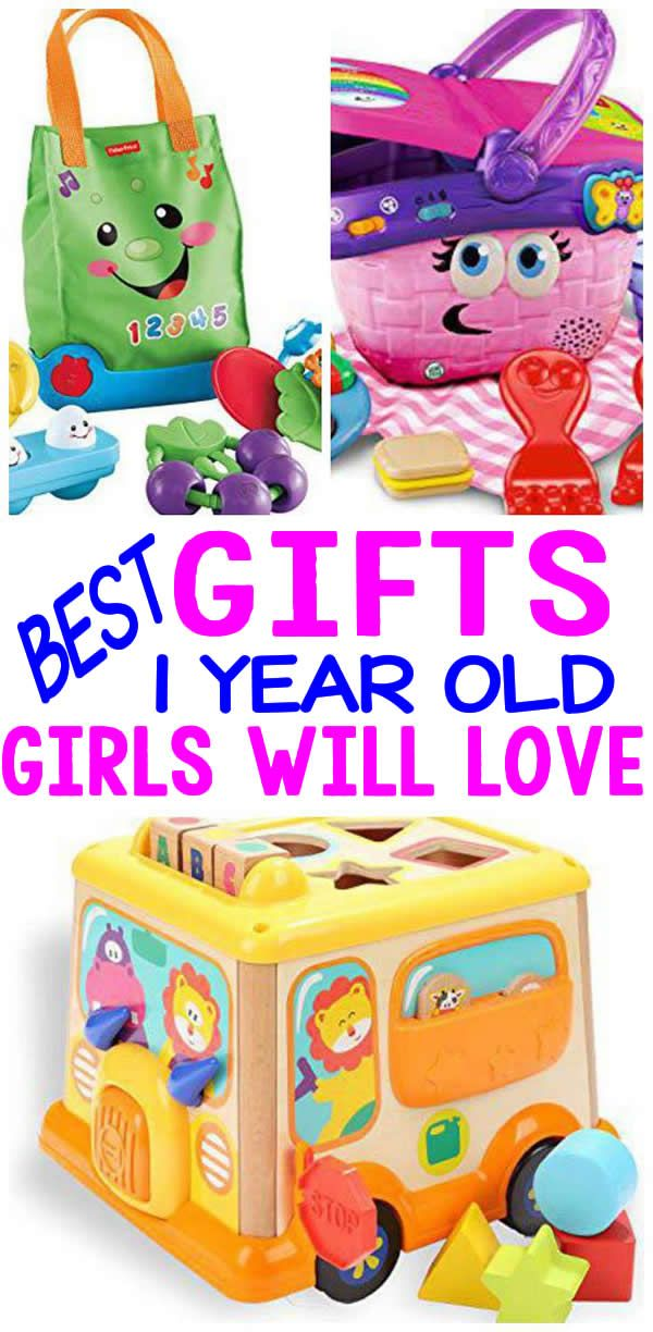 BEST Gifts 1 Year Old Girls Will Love