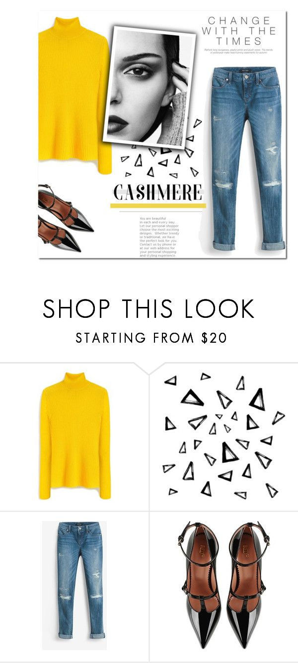 """""""Cozy Cashmere Sweaters"""" by emma-avigdor ❤ liked on Polyvore featuring Mulberry, Nika, White House Black Market, RED Valentino, autumn, women, cashmere and polyvorefashion"""