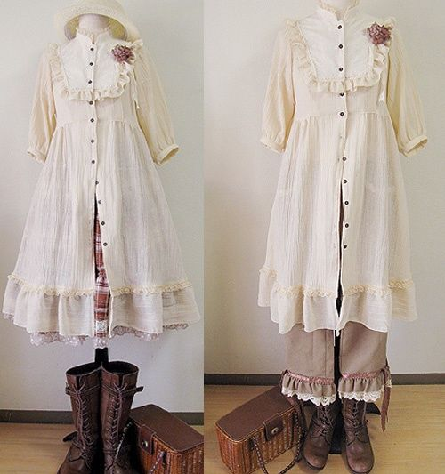 fammori:  Repinned from Mori Girl and Natural Kei style by  Leanne Shawler Originally pinned by Layla West onto Mori girl