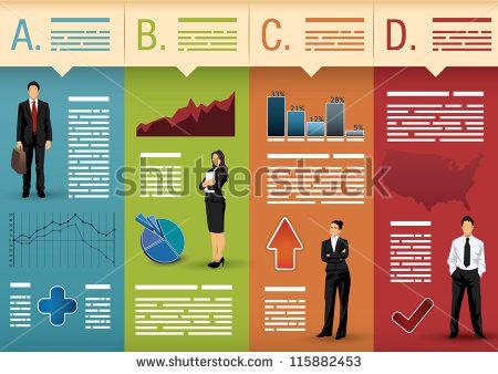 Template Used For Infographics, Websites, Brochures, Presentations Stock Vector Illustration 115882453 : Shutterstock