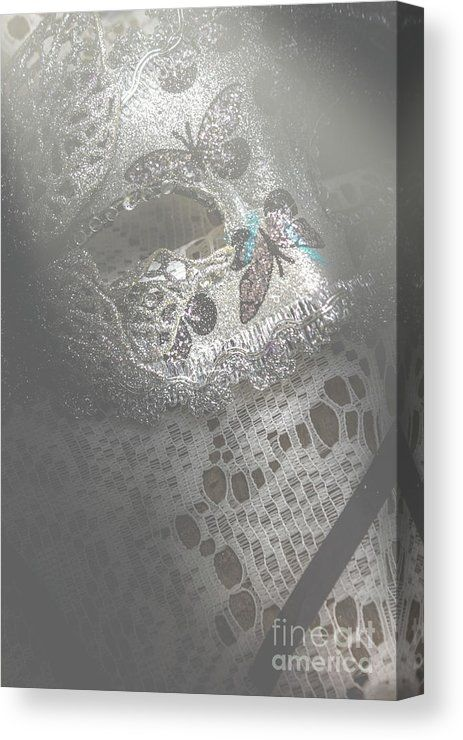 Theater Canvas Print featuring the photograph Mysterious Pantomime Play by Jorgo Photography - Wall Art Gallery