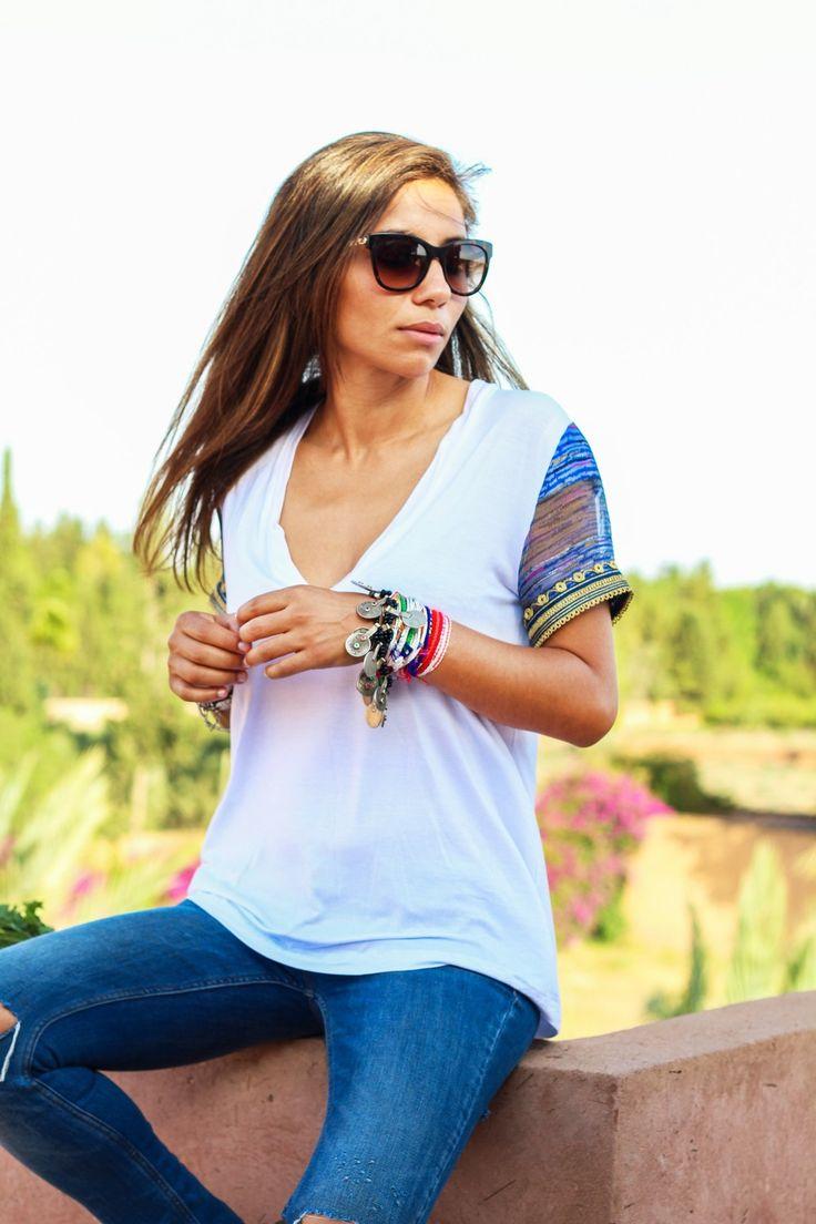 Imlil T-Shirt via bakchic |  Women's Boho Clothing
