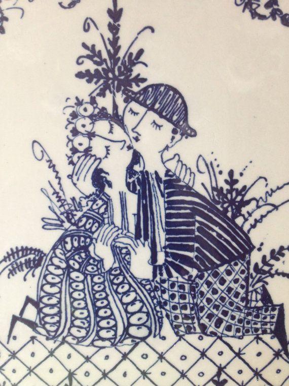 Vintage Lotte Figgjo Flint Turi Design Norway by VintageByBeth, $24.00