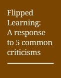 Over the past two years, the Flipped Learning method has created quite a stir. Some argue that this teaching method will completely transform education, while others say it is simply an opportunity for boring lectures to be viewed in new locations.