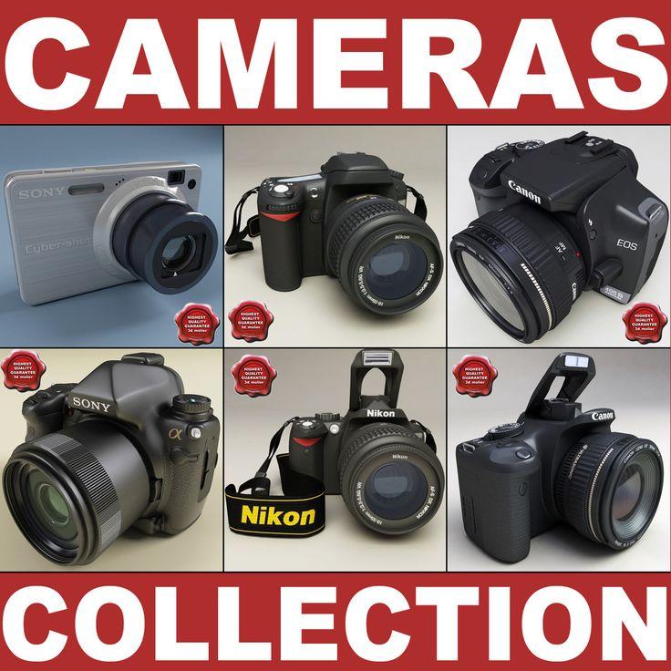 http://www.turbosquid.com/3d-models/3d-model-photo-cameras-v2/521665