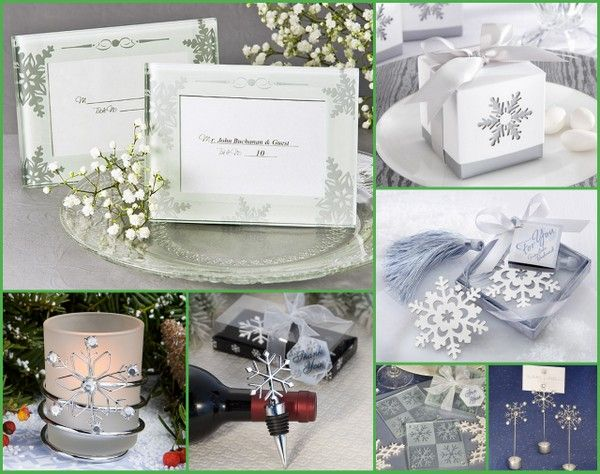 Snowflake Party Favors for 2014 Winter from HotRef.com