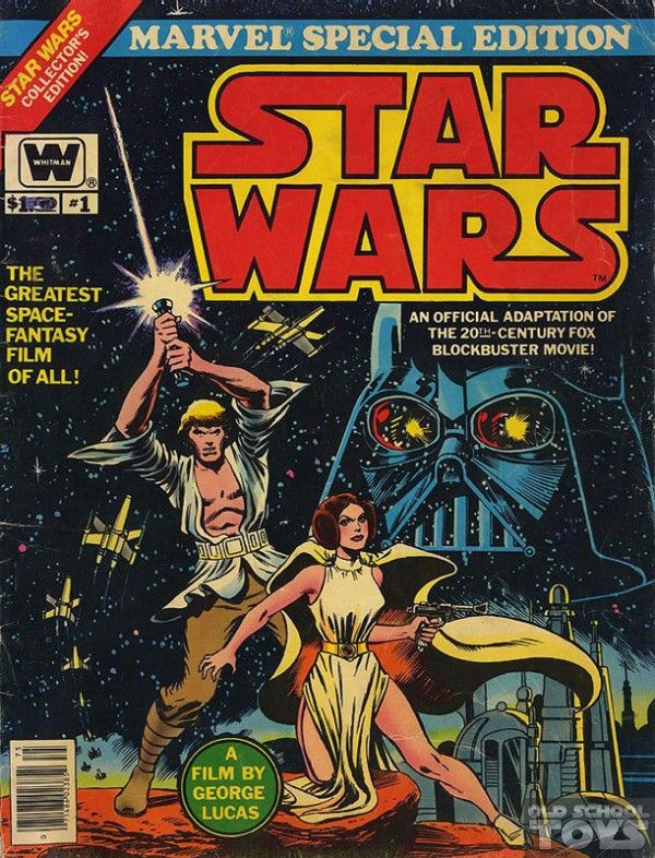 Star Wars comic: Marvel Treasury Edition a New Hope # 1
