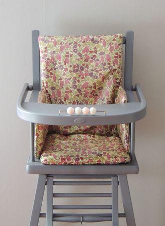 coussin de chaise en bois