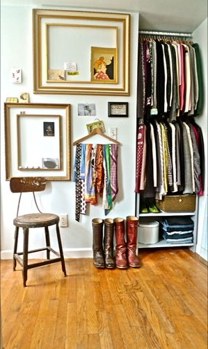 Community Post: 12 Creative Ways To Create Exposed Closet Space