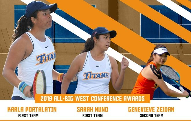 Three Titans Claim All Conference Awards Cal State Fullerton Athletics Athletic Events One Team Athlete