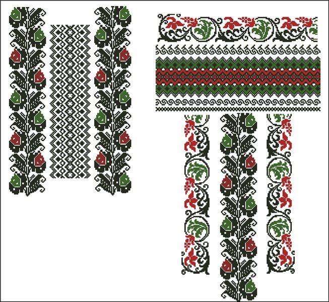 Дизайн машиної вишивки хрестиком