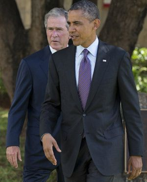 Obamas, Bushes, Clintons to head to SA