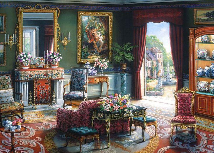 Summer Afternoon By John O Brien Art Charming Interiors