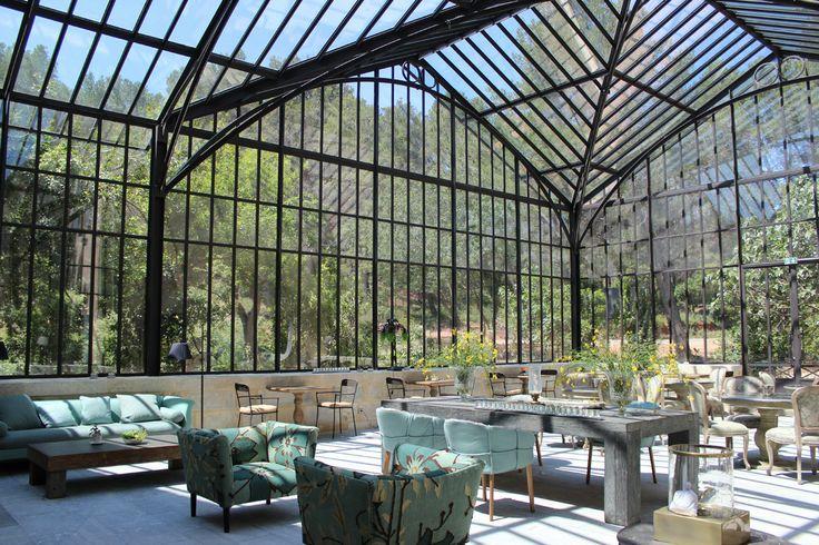 Notre joli jardin d'hiver - Les Baux de Provence - Domaine de Manville
