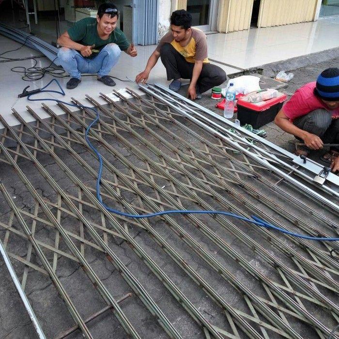 Service Folding Gate di Cilandak Jakarta