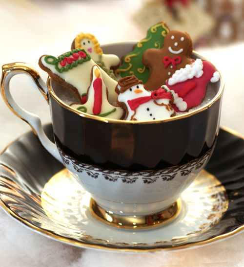 Gingerbread with Earl Grey: Lovely for the holidays!