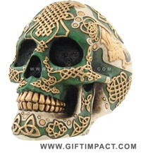 Celtic Skull 2-Not a tattoo, but maybe I could combine my love of sugar skulls with my intense love of my irish heritage? hmm