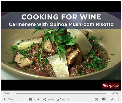 Roasted Mushroom Quinoa Risotto Recipe — Dishmaps