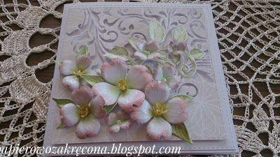 Papierowo zakręcona    : Kwiat derenia cd