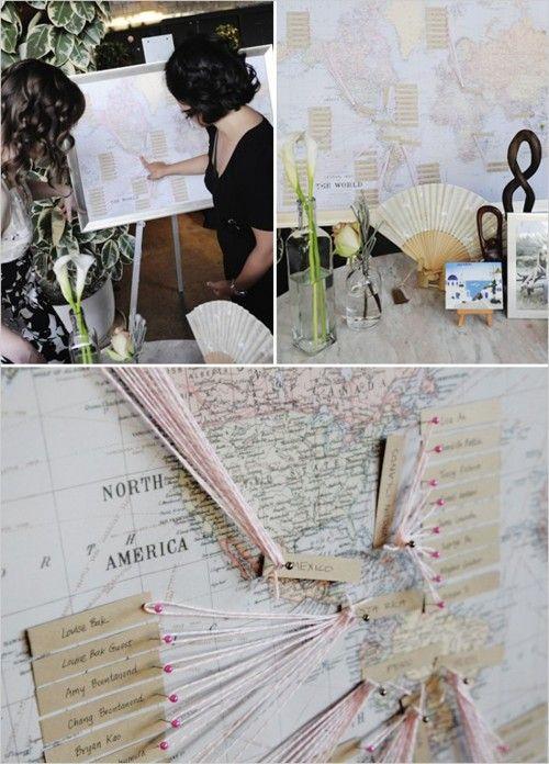 Avec une frise chronologie des peintres ? plan de table mariage