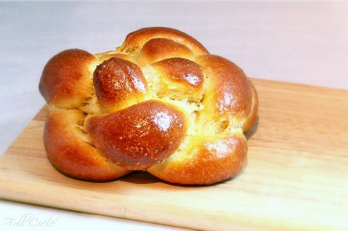 Challah recipe from Full Circle Foodie