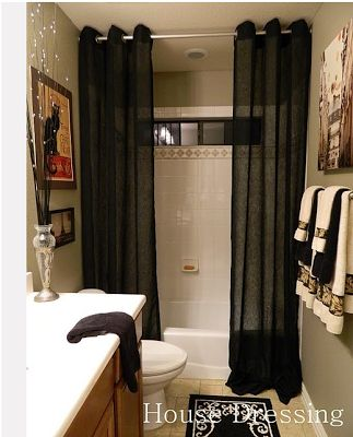 This Apartment Is Too Small: double shower curtain