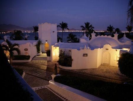 Las Hadas Resort  Manzanillo, Mexico    The cobblestone streets look awesome!