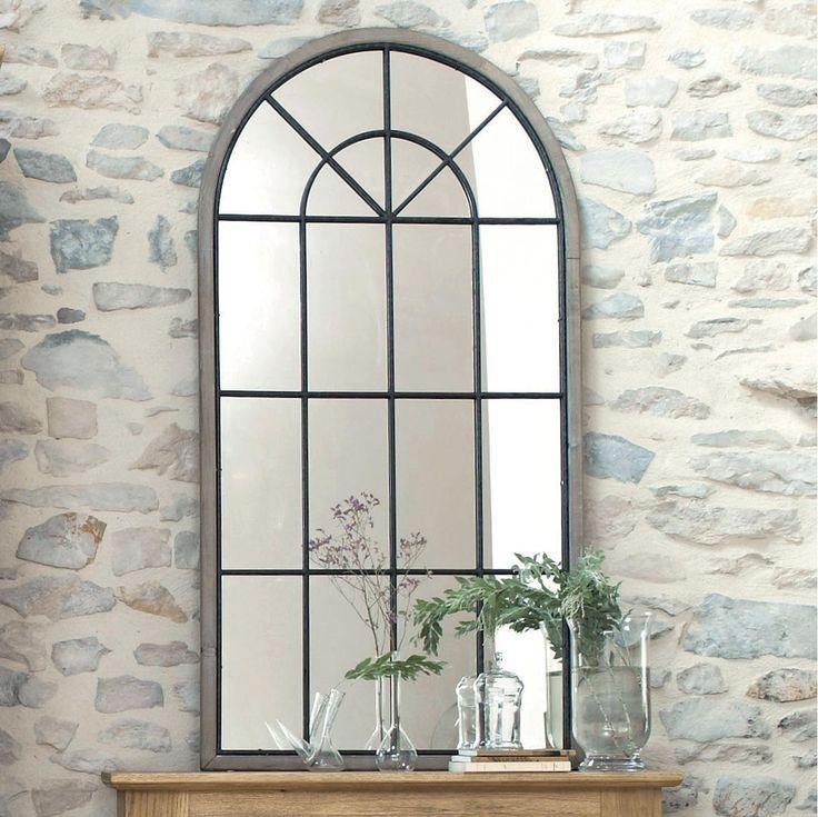 Miroir fenêtre demi-lune H 146 cm SAINTE-MAXIME