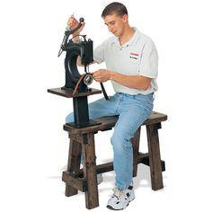 "Tippmann ""Boss"" Leather Sewing Machine and Cobbler Bench - Gawwwd Damnit I want one of these sssssooooooooooooo bad! -SeanD"