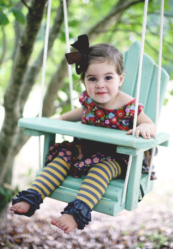 17 best images about baby swings on pinterest wooden for Unique swings for kids