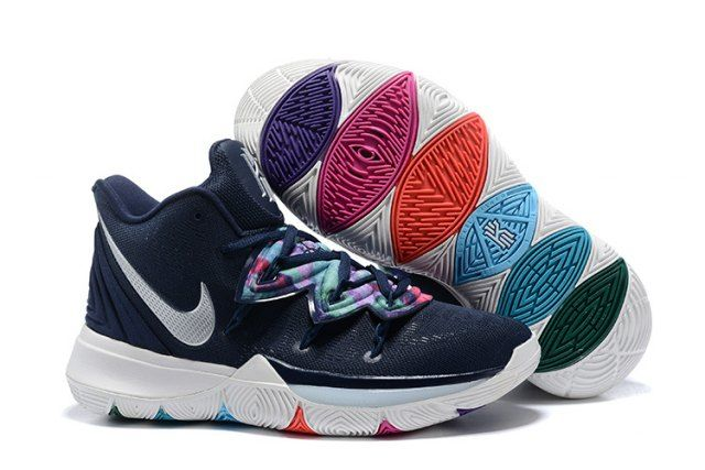 precettore Contare gli insetti Seguire  Nike Kyrie 5 Multi-Color/Metallic Silver AO2918 900 Men's Basketball Shoes  Irving Sneakers | Nike kyrie, Best basketball shoes, Nike lebron shoes