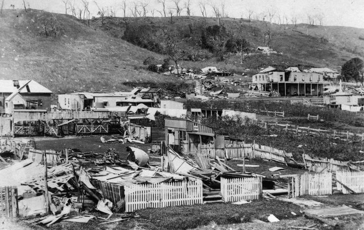 Cyclone damage Port Douglas 1911 SLQ
