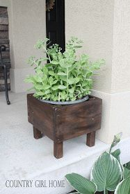COUNTRY GIRL HOME : Planters...