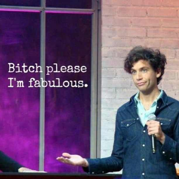 Mika is fabulous.