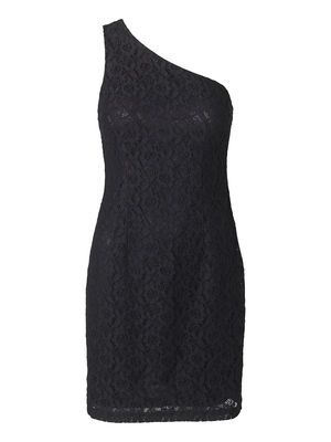 LACY ONE-SHOULDER SHORT DRESS Holiday Countdown contest. Pin to win the style! #VEROMODA
