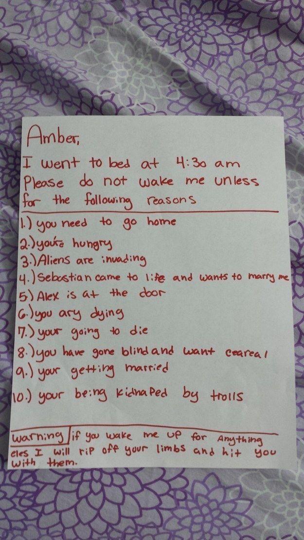 21 absolut gnadenlose Notizen von Kindern, über die du einfach lachen musst