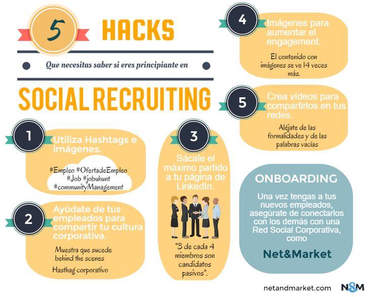 5 hacks para empezar a hacer social recruiting.