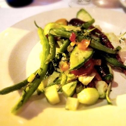 Farmers Market Vegetable Salad at Potager (Denver)