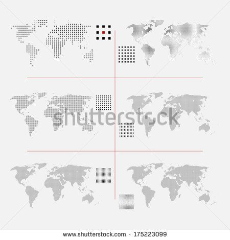 Stock Images similar to ID 171116207 - word cloud world map