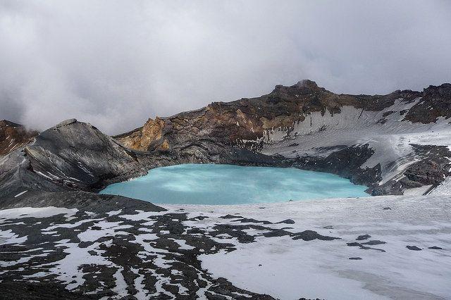 Mt Ruapehu Crater Lake Mt ruapehu New Zealand